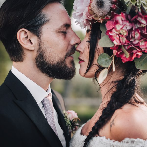 Matrimonio all'aperto in Italia