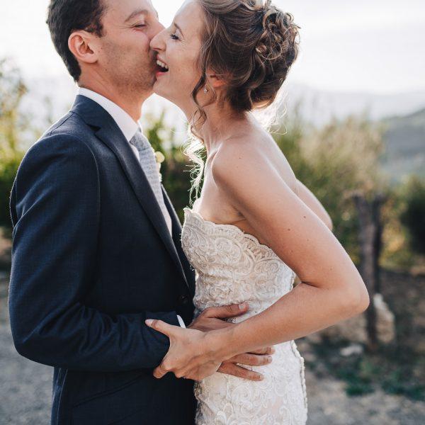 Matrimonio intimo in Toscana
