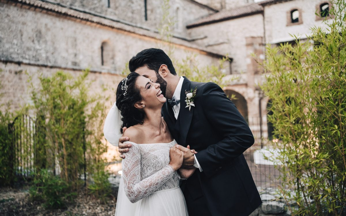 Film di matrimonio all'Abbazia di San Pastore